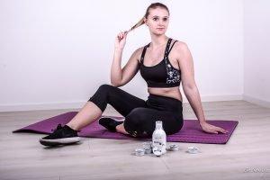 Gesund und einfach abnehmen mit Sport und DrSlym - eine Erfolgsgeschichte. Erfahrungsbericht, wie ich in einem Monat 5 Kilo verloren habe.