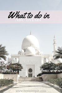 Abu Dhabi - capital of the United Arab Emirates, metropolis and holiday paradise. Travel report about the Emirates Palace and the top 5 sights Your personal travel guide to paradise to white sand beaches, sun and lots of luxury