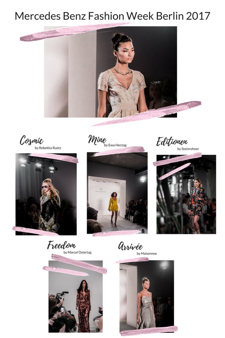 Mercedes Benz Fashion Week Berlin 2017 - ein Erfahrungsbericht über meine erste Fashion Week und alle Shows, Events und Party, die ich besucht habe: Steinrohner, Ewa Herzog, Maisonnoee, Rebekka Ruetz, Marcel Ostertag. Meine Erfahrungen zur den Modenschauen der Fashion Week. Welche Shows sollte man auf der Fashion Week sehen. Coole Fashion Week Sideevents. By Be Sassique Modeblog aus München #fashionweek #fashionweekberlin #mbfw #fashionweek 2017 #mbfwberlin2017 #mbfwb