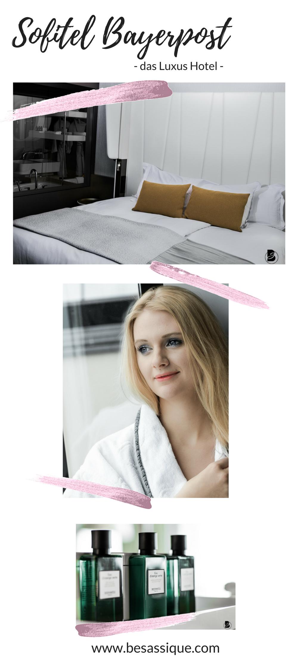 3 Hoteltipps für deinen Aufenthalt München.Die Auswahl an Hotels in München ist nahezu unbegrenzt– jeder Stil, jede Lage und jede Preisklasse ist vertreten. Du suchst den puren Luxus? Dann bist du im exklusiven Sofitel Machen Bayerpost, einem Hotel am Hauptbahnhof München, genau richtig.