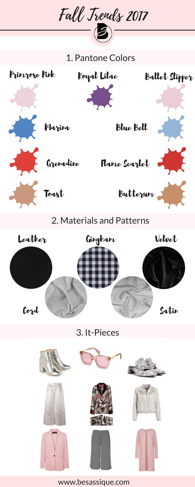 fall trends 2017 herbsttrends 2017 modetrends herbst winter 2017 pantone fashion color report. Black Bedroom Furniture Sets. Home Design Ideas
