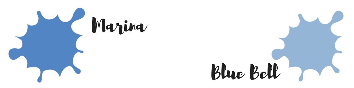 Pantone Trendfarben des Fashion Color Report für den Herbst 2017 : Marina und Blue Bell