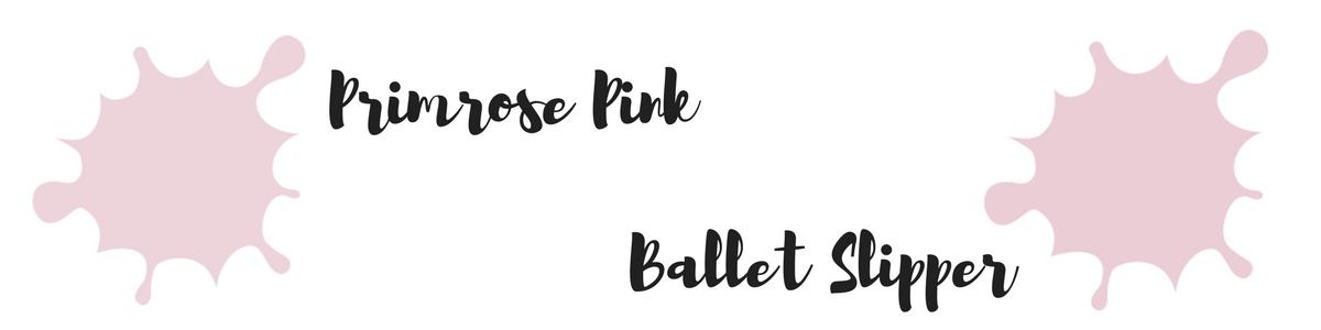 Pantone Trendfarben des Fashion Color Report für den Herbst 2017 : Primrose Pink und Ballett Slipper