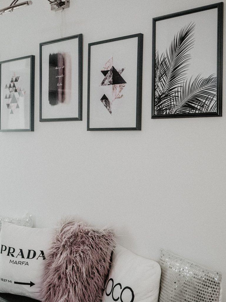 Bilderwände sind dieses Jahr einer der Interior Trends überhaupt. Aber wie bekommt man die perfekte Bilderwand hin? Heute gebe ich dir 3 Tipps für deine ganz persönliche Pinterest Bilderwand.